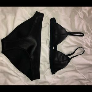 TRIANGL SWIMSUIT!!